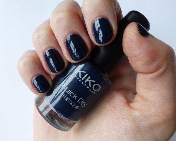 Kiko Quick Dry Nail Lacquer 839 Teal Blue