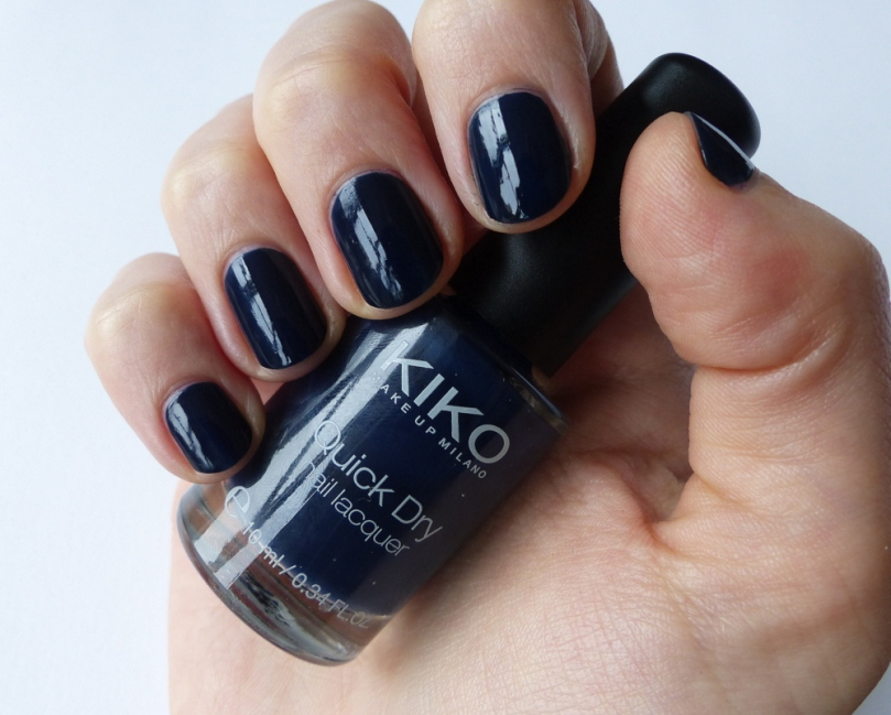 Kiko Quick Dry Nail Lacquer 839 Teal Blue