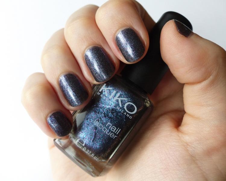 Kiko Nail Lacquer 524 Blue Multicolor